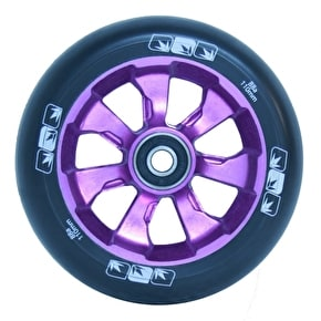 Blunt 7 Spoke 110mm Metal Core Wheel - Purple / Black